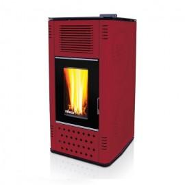 Pelletkachel P12 WATER + AIR - 12kW