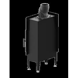 Inbouwhaard met draaideur HST54x39.L