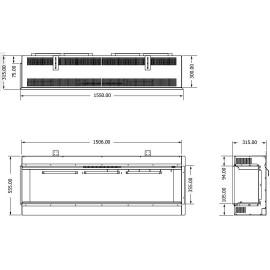 ELEMENT4 (INBOUW HOEK) BIDORE-150-E