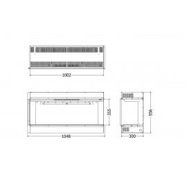 ELEMENT4 (INBOUW HOEK) BIDORE-100-E