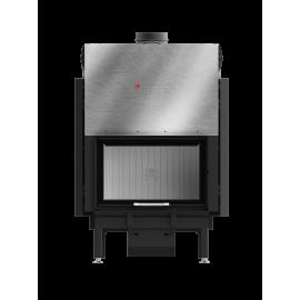 Inbouwhaard met draaideur Ardente-68x43.G