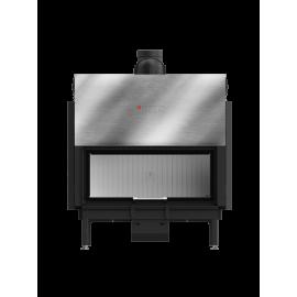Inbouwhaard met liftdeur Ardente-105x43.G