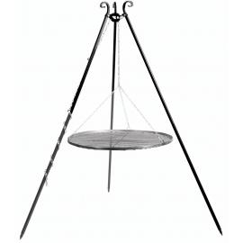 Driepoot 180cm met stalen Grillrooster Ø 60cm