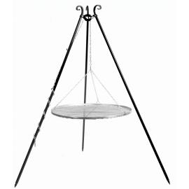 Driepoot 180cm met RVS Grillrooster Ø 60cm