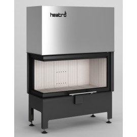 Inbouwhaard (tweezijdig) met liftdeur Heatro-81LH