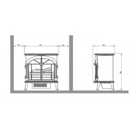 Dimplex Stockbridge Opti-Myst