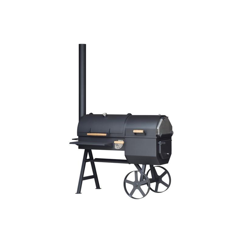 Robuuste houtgestookte smoker - BASIC+OVEN
