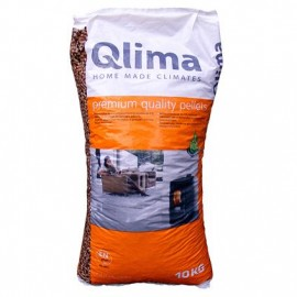 Qlima pellets 10 kg zak